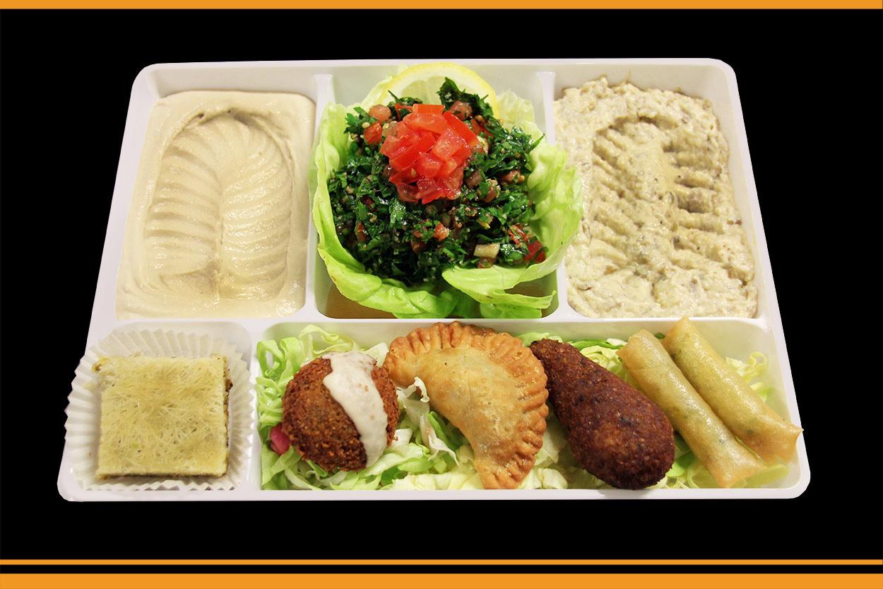 plateau repas libanais au havre